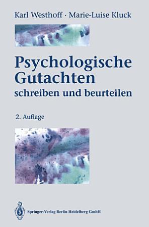 Psychologische Gutachten PDF