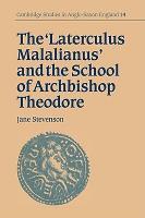 The  Laterculus Malalianus  and the School of Archbishop Theodore PDF
