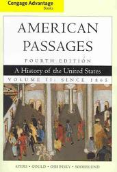 Cengage Advantage Books A History In The United States Volume Ii Since 1865 Book PDF