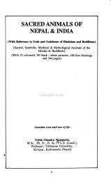 Sacred Animals of Nepal and India PDF