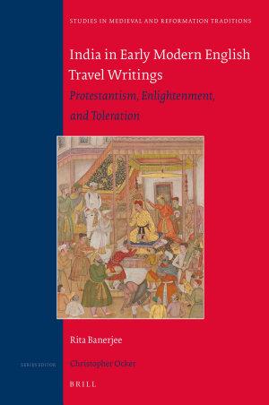 India in Early Modern English Travel Writings