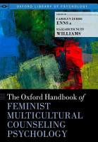 The Oxford Handbook of Feminist Counseling Psychology PDF