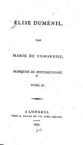 Elise Duménil: Volume4