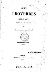 Anciens proverbes basques et gascons, recueillis par Voltoire et remis au jour par G.B.