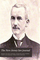 The New Jersey Law Journal: Volume 23