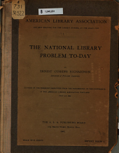 The National Library Problem Today