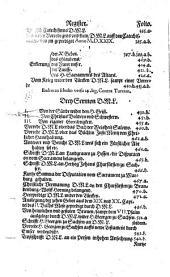 Alle Bücher und Schrifften: ... vom XXVIII. jar an, bis auffs XXX. Ausgenomen etliche wenig Stück, so zu ende des dritten Teils gesetzt sind. 4