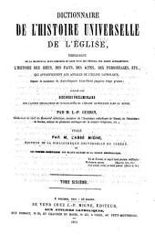 Encyclopédie théologique: ou, Série de dictionnaires sur toutes les parties de la science religieuse ... t. 1-50, 1844-1862; nouv, sér. t. 1-52, 1851-1866; 3e sér