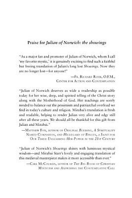 Julian of Norwich  The Showings