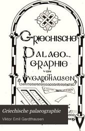 Griechische palaeographie