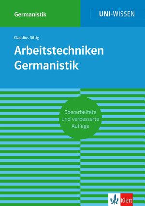Uni Wissen Arbeitstechniken Germanistik PDF