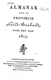 Almanak voor de Provincie Noord-Braband, voor het jaar ....: Volume 2