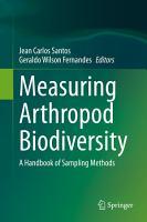 Measuring Arthropod Biodiversity PDF