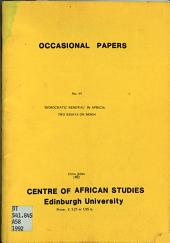 Democratic Renewal  in Africa PDF