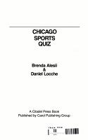 Chicago Sports Quiz PDF