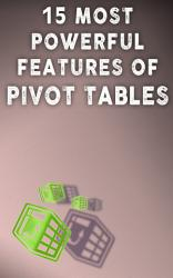 15 Most Powerful Features Of Pivot Tables Book PDF