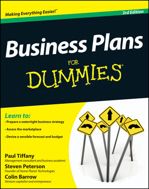 Business Plans For Dummies