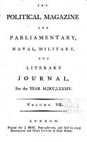 The Political Magazine and Parliamentary  Naval  Military  and Literary Journal PDF