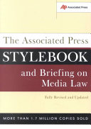 Download Associated Press Stylebook And Briefing On Media Law 2002 Edition Book