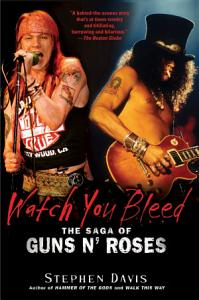 Watch You Bleed Book