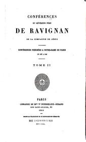 Conférences du Révérend Père de Ravignan de la compagnie de Jésus: conférences préchées a Notre-Dame de Paris de 1837 a 1846, Volume2