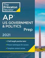 Princeton Review AP U.S. Government & Politics Prep, 2021
