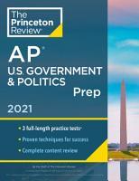 Princeton Review AP U S  Government   Politics Prep  2021 PDF