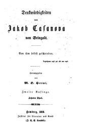 Denkwürdigkeiten von Jakob Casanova von Seingalt: Band 10
