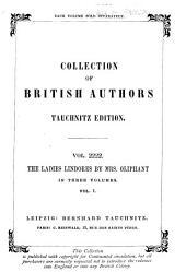 The Ladies Lindores: Volume 1