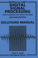 Introductory Digital Signal Processing with Computer Applications  SOL 2 Rev t a PDF