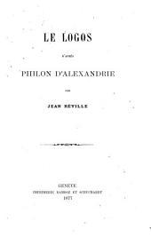 Les logos d'après Philon d'Alexandrie