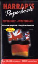 German Paperback Dictionary