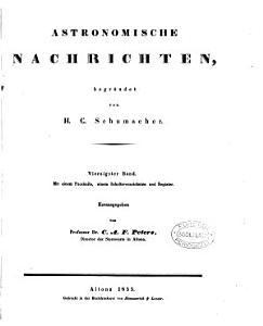 Astronomische Nachrichten PDF