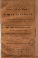 Complete catalogue of Bohn s libraries PDF