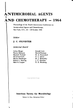 Antimicrobial Agents and Chemotherapy, 1964