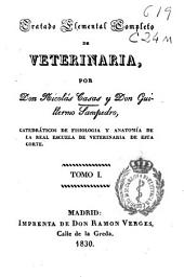 Tratado elemental completo de veterinaria: Volumen 1