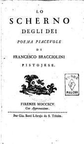 Lo scherno degli dei poema piacevole di Francesco Bracciolini pistojese