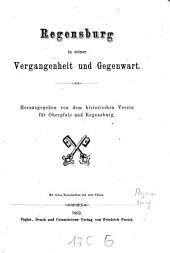 Regensburg in seiner Vergangenheit und Gegenwart: mit vielen Holzschnitten und 2 Plänen