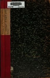Catalogue of English Prose Fiction (adult and Juvenile): 1898