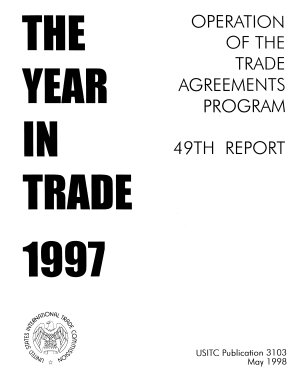 The Year in Trade  1997  PDF