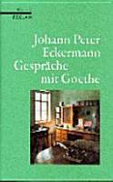 Gespr  che mit Goethe in den letzten Jahren seines Lebens PDF