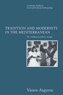 Tradition and Modernity in the Mediterranean