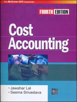 Cost Accounting 4E