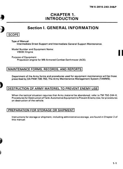 Intermediate Direct and General Support Maintenance Manual  including Repair Parts and Special Tools List  PDF