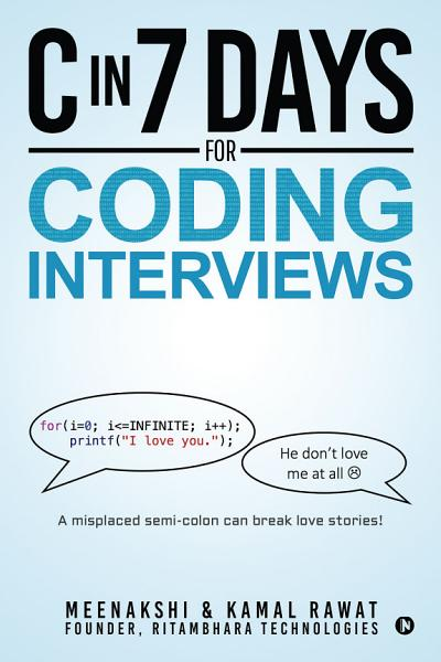 C IN 7 DAYS for CODING INTERVIEWS PDF