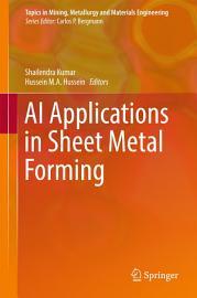 AI Applications in Sheet Metal Forming PDF
