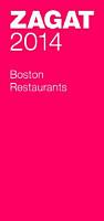 Zagat 2014 Boston Restaurants PDF