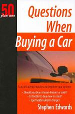 Questions When Buying a Car