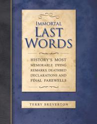 Immortal Last Words PDF
