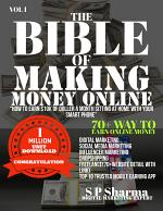 THE BIBLE OF MAKING MONEY ONLINE
